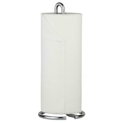 Home Basics Simplicity Collection Free-Standing Paper Towel Holder, Chrome