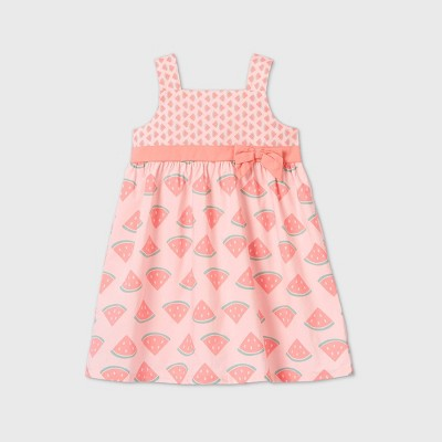 Toddler Girls' Tank Top 'Watermelon' Dress - Just One You® made by carter's Pink 3T