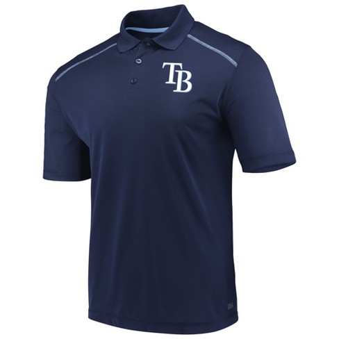 MLB Tampa Bay Rays Men's Fan Engagement Polo Shirt - image 1 of 3