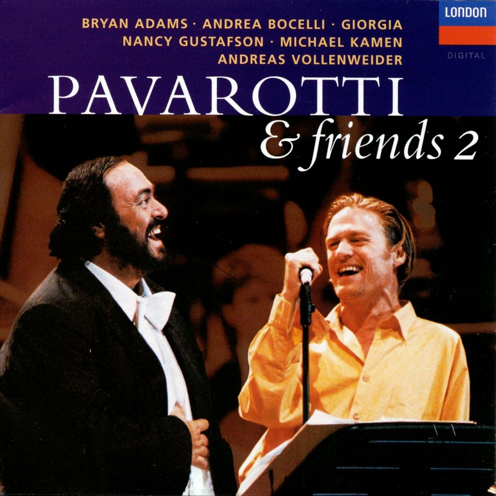Luciano Pavarotti - Pavarotti And Friends Vol 02 (CD)
