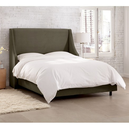Swoop Wingback Bed Skyline Furniture Target