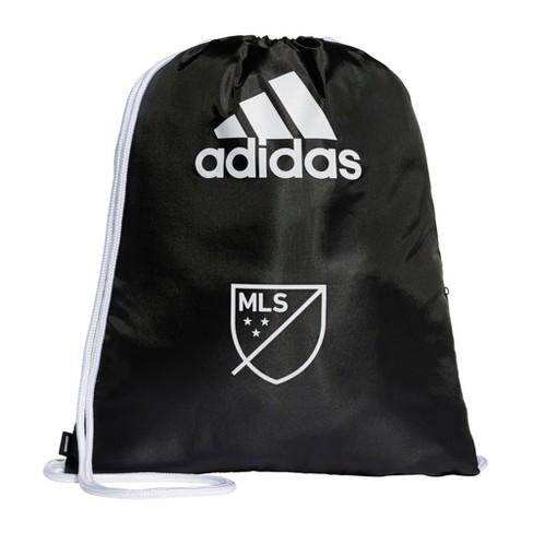 Adidas Mls Drawstring Bag Black