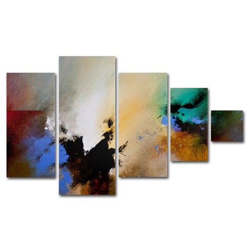 'Clouds Connected II' by CH Studios Ready to Hang Multi Panel Art Set - image 1 of 3