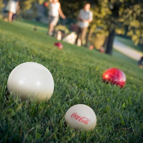 Coca Cola Bocce Ball Set - Regulation Size - image 1 of 2