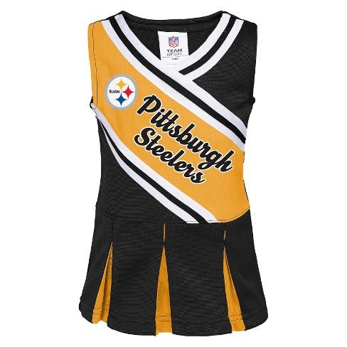 12cd2fede Pittsburgh Steelers Infant Toddler Cheerleader Dress   Target