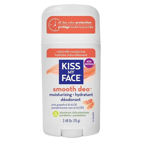 Kiss My Face Stick Pink Grapefruit & Aloe Smooth Deo Deodorant - 2.48oz - image 1 of 1