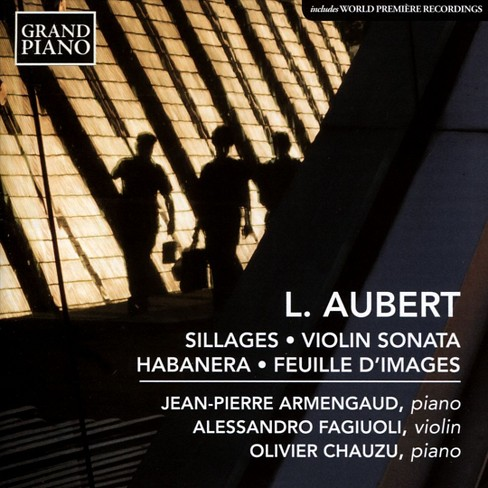 Jean-pier armengaud - Aubert:Sillages/Violin son/Habanera/F (CD) - image 1 of 1