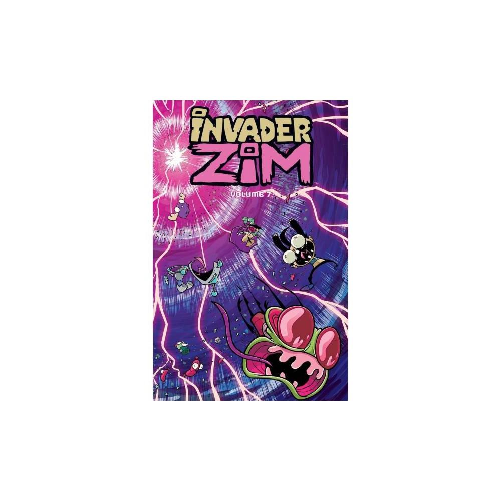 Invader Zim 7 - (Invader Zim) by Eric Trueheart & Sam Logan & K. C. Green (Paperback)
