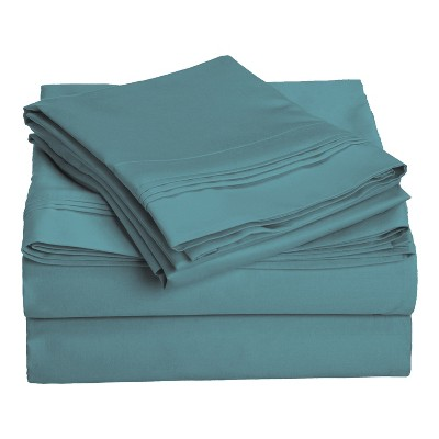 1000-Thread Count Cotton Deep Pocket Sheet Set - Blue Nile Mills
