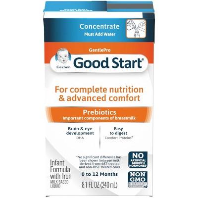 Gerber Good Start Gentle Non-GMO Concentrate Infant Formula - 8.1 fl oz