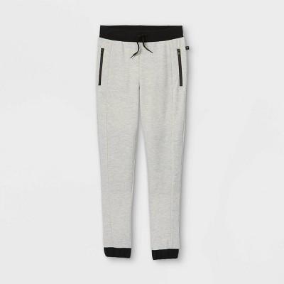 Boys' Zip Jogger Pants - art class™ Gray