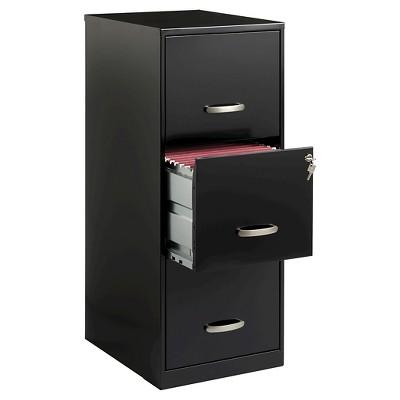 Hirsh Industries® Space Solutions File Cabinet, 3 Drawer   Black : Target