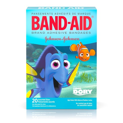 Band-Aid Decorated Finding Dory Bandages - 20ct - image 1 of 4