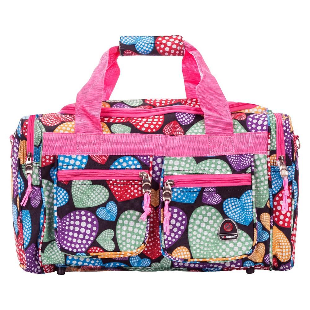 Rockland 19 34 Duffel Bag Hearts