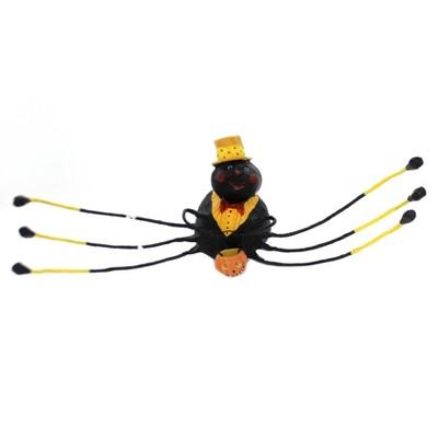 """Lori Mitchell 3.0"""" Willie Web Weaver Spider Black Halloween  -  Decorative Figurines"""