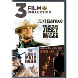 3 Film Collection: The Outlaw Josey Wales / Pale Rider / Unforgiven (DVD)