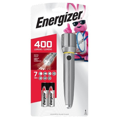 Energizer 2AA Vision LED HD  Metal FlashLight