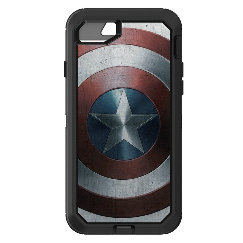 best loved c6a19 8113c OtterBox Apple iPhone 8/7 Marvel Defender Case - Captain America