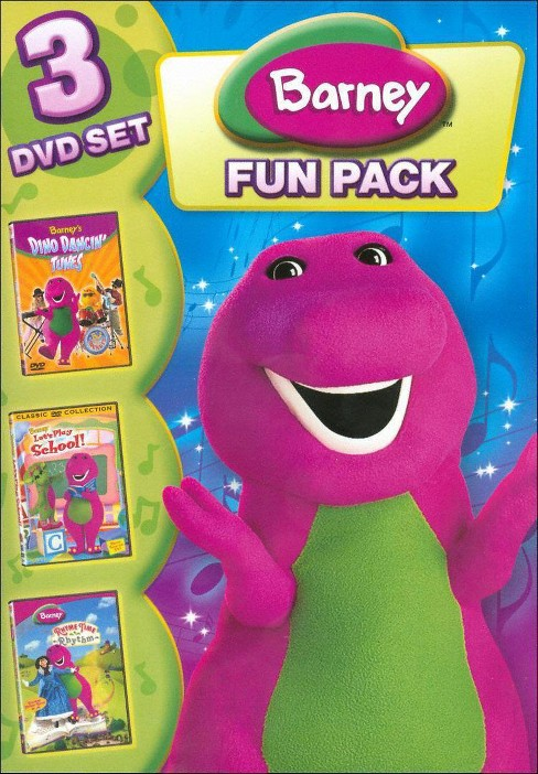 Barney: Fun Pack (3 Discs) (dvd_video) - image 1 of 1