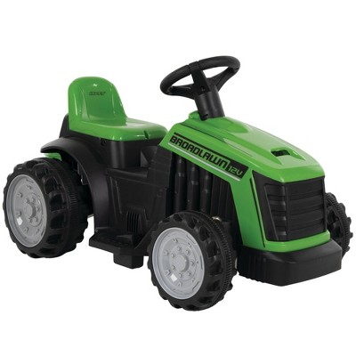 Huffy 12V Broadlawn Tractor with Bubble Maker Powered Ride-On