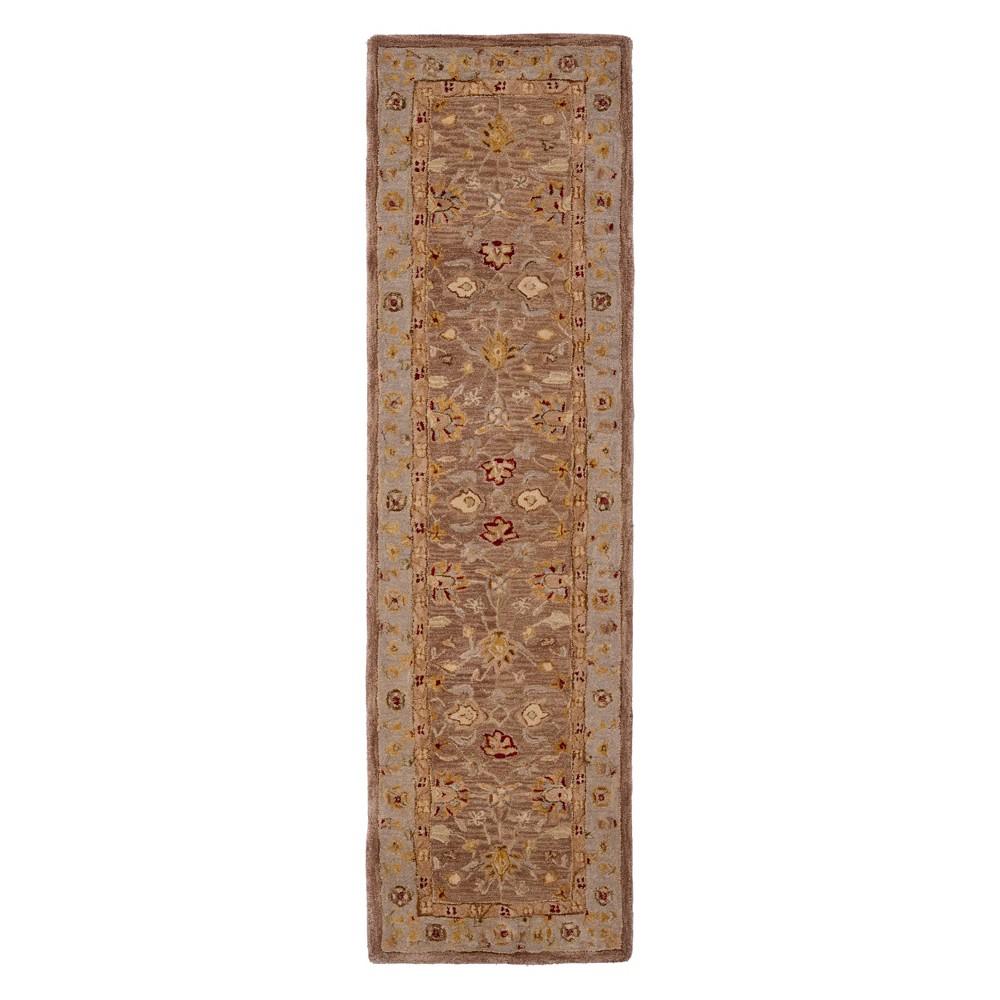 23X18 Floral Runner Tan/Ivory - Safavieh Discounts