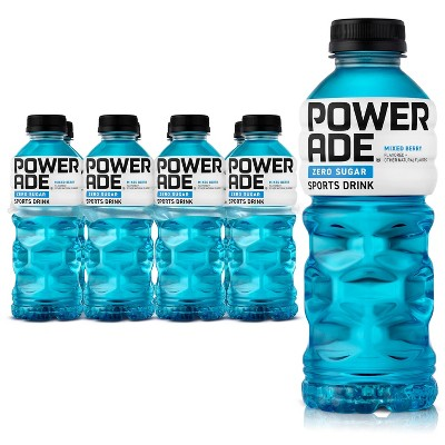 POWERADE Zero Mixed Berry Sports Drink - 8pk/20 fl oz Bottles