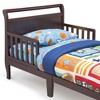 Sleigh Toddler Bed Black Cherry - Delta Children - image 3 of 4