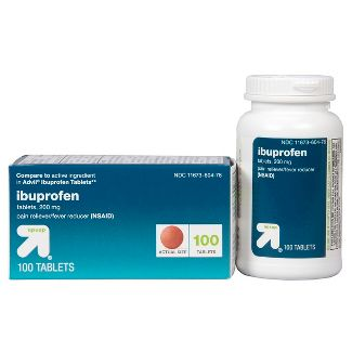 Ibuprofen (NSAID) Pain Reliever & Fever Reducer Tablets - 100ct - Up&Up™