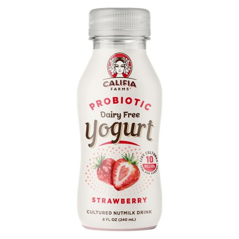 Califia Farms Strawberry Probiotic Yogurt Drink - 8 fl oz - image 1 of 3