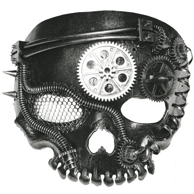 Steampunk Mask Halloween Costume Wearable Accessory