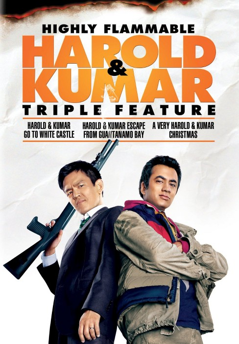 Highly Flammable Harold & Kumar Triple Feature (3 Discs) (dvd_video) - image 1 of 1