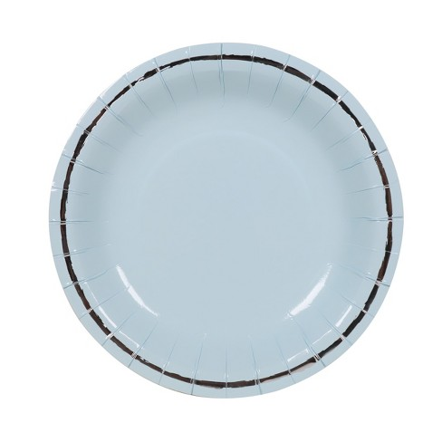 10ct Large Snack Plates Blue - Spritz™ - image 1 of 2