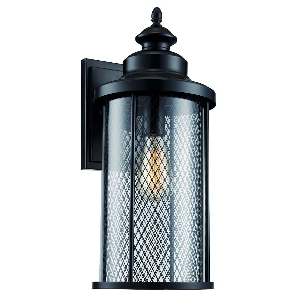 Image of Bel Air Lighting Outdoor Wall Light Black