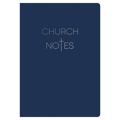 Lined Journal Church Notes