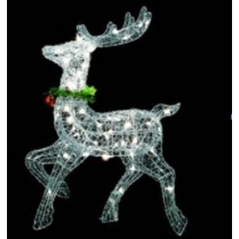 Home & Kitchen Northlight 25 Standing and Grazing Lighted Reindeer Outdoor Christmas Decoration