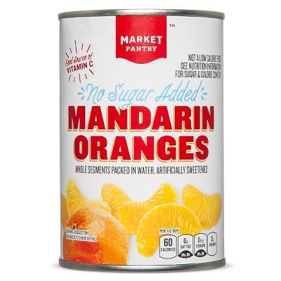 No Sugar Added Mandarin Oranges 15oz - Market Pantry™