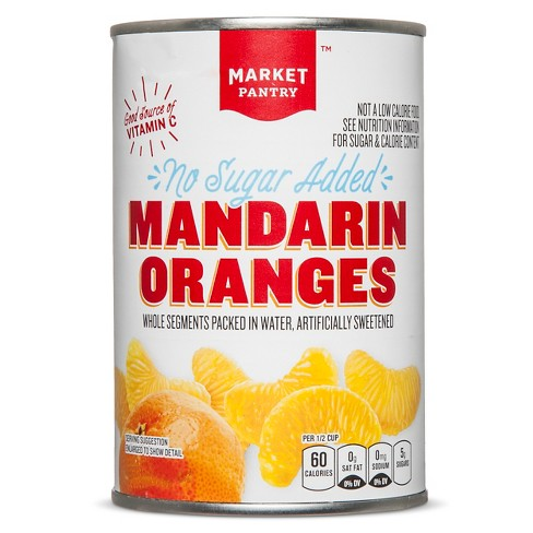 No Sugar Added Mandarin Oranges 15oz - Market Pantry™ - image 1 of 1