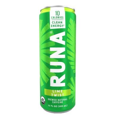 Runa Zero Lime Energy Drink - 12 fl oz Can