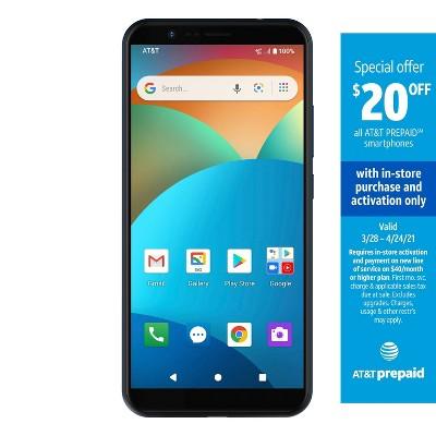 AT&T Prepaid Motivate (16GB) - Blue