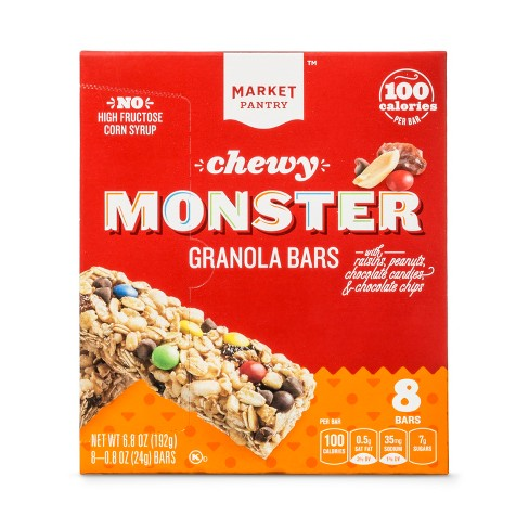 Monster Chewy Granola Bar 8ct - 6.8oz