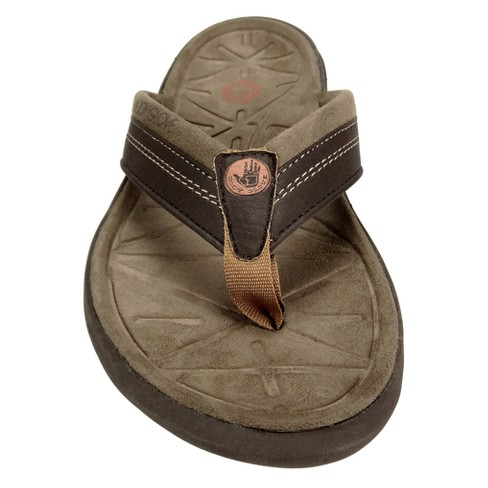 678d19790654 Men s Body Glove Quest Flip Flop Sandals - Brown. Shop all Body Glove