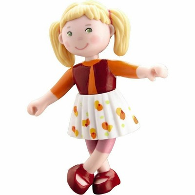 """HABA Little Friends Milla - 4"""" Dollhouse Toy Figure with Blonde Hair"""