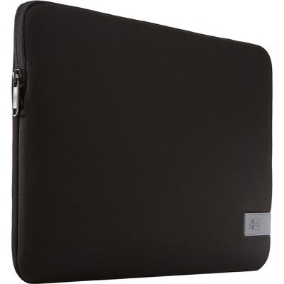 "Case Logic Reflect REFPC-114-BLACK Carrying Case (Sleeve) for 14.1"" Notebook - Black - Scratch Resistant - Memory Foam, Plush Interior"