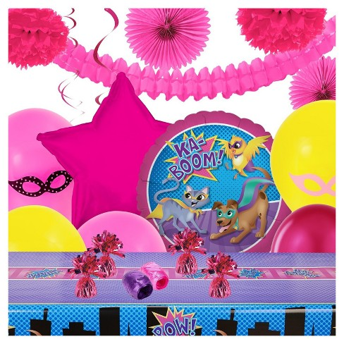 Super Hero Pets Party Decoration Kit - image 1 of 1