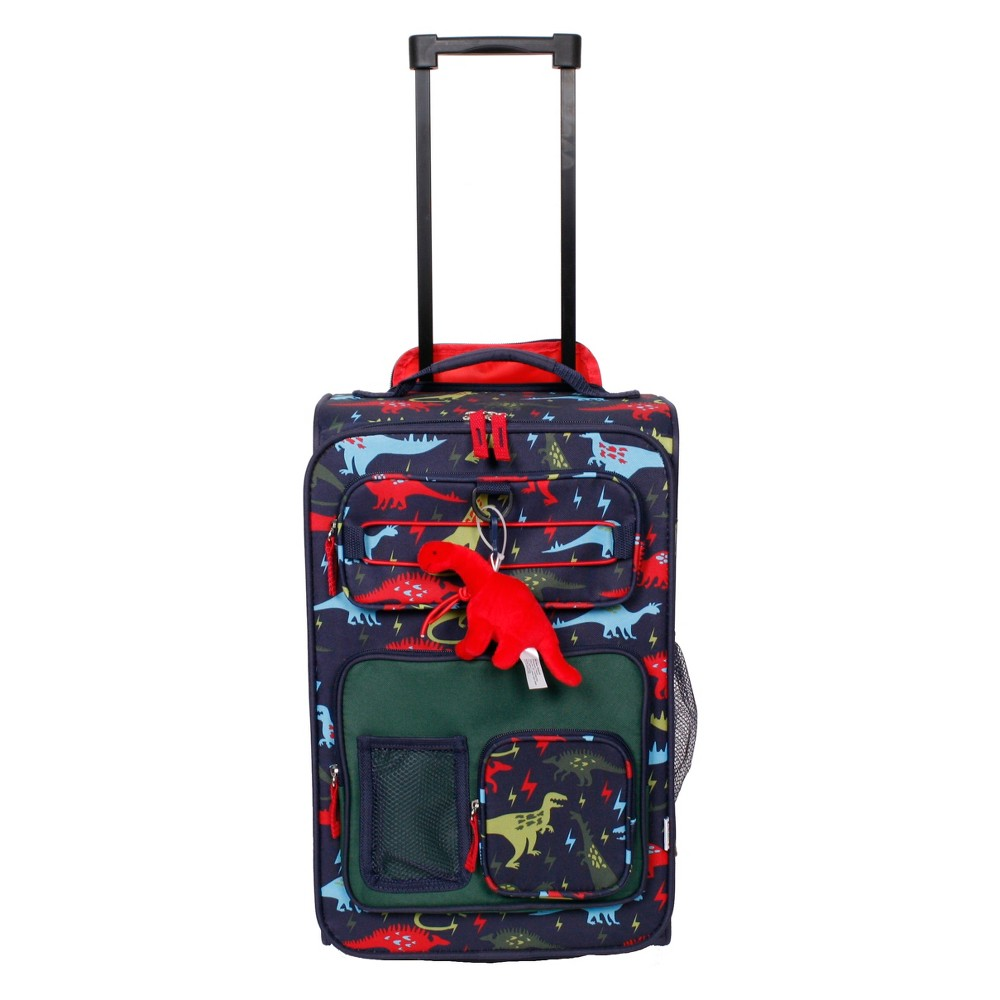 """Image of """"Crckt 18"""""""" Kids' Carry On Suitcase - Dinosaur, Boy's, Blue Green Red"""""""