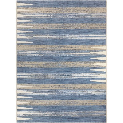 5'x7' Outdoor Rug Blue - Project 62™
