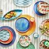 2pc Bamboo Melamine  Floral Serving Platter - Opalhouse™ - image 4 of 4