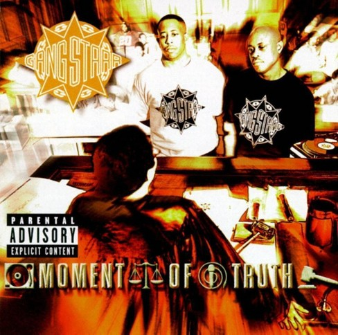 Gang starr - Moment of truth [Explicit Lyrics] (CD) - image 1 of 1