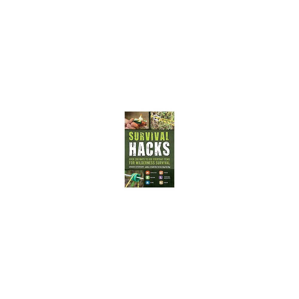 Survival Hacks : Over 200 Ways to Use Everyday Items for Wilderness Survival (Paperback) (Stewart Creek)