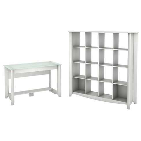 Computer Desk Target Home - White - Bush Furniture - image 1 of 4